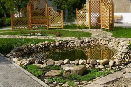 Искусственные водоемы на ваших участках